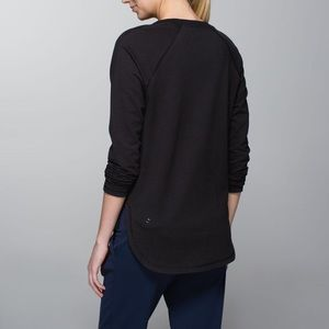 Lululemon After Asana Pullover Sz 12